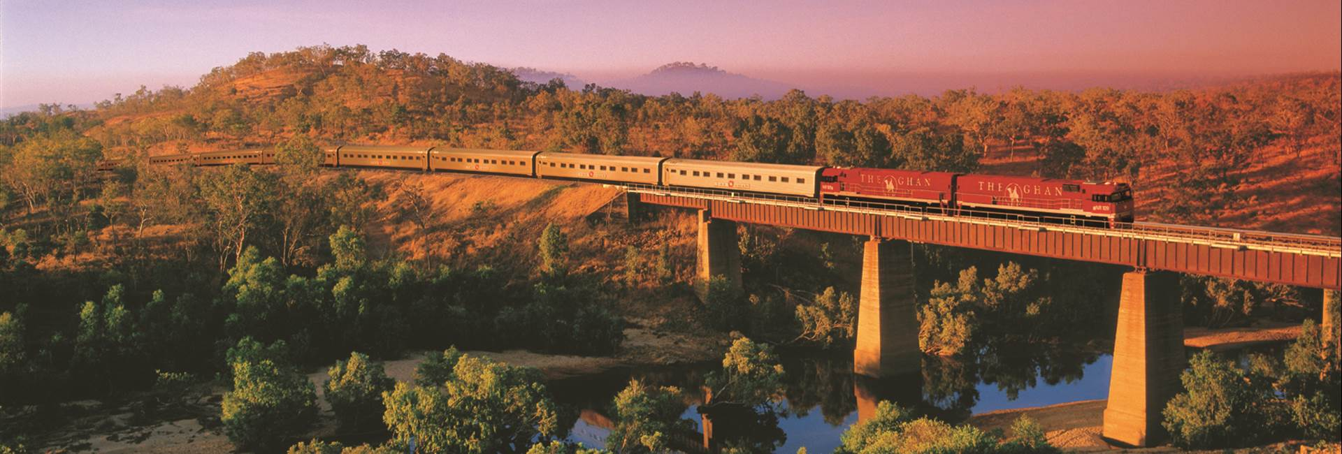 The Ghan - Adelaide-Alice Springs-Darwin